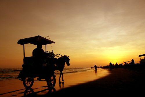 Lukisan Alam Terbaik Di Objek Wisata Pantai Parangtritis Yogyakarta