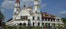 Keindahan Arsitektural Wisata Lawang Sewu Semarang