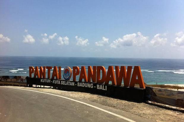 Keindahan Wisata Pantai Pandawa Bali Tampak Begitu Sempurna
