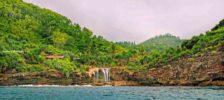 Objek Wisata Air Terjun Jogan yang Unik Di Antara Tebing-tebing