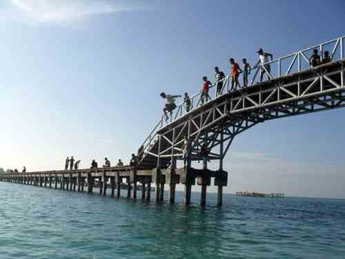 Terjun Jembatan Cinta
