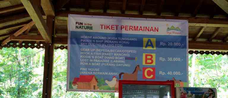 Tiket Dago Dream Park