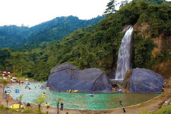 Wisata Air Terjun Bidadari, Bojongkoneng, Sentul