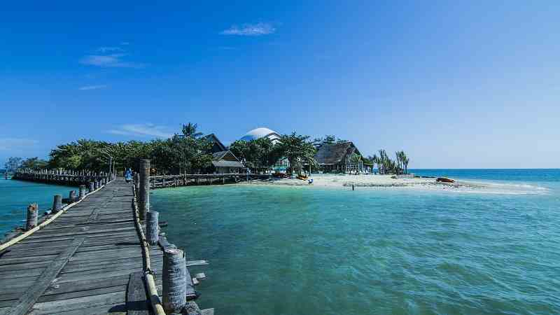 Pulau Umang Wisata Pantai Daerah Pandeglang, Banten