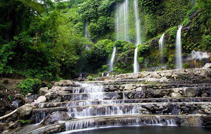 Wisata Lombok - Air Terjun Benang Kelambu