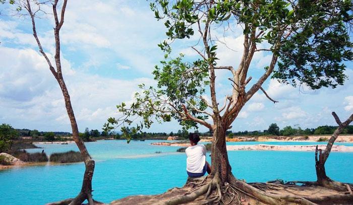 Wisata Pulau Bintan - Danau Biru Bintan