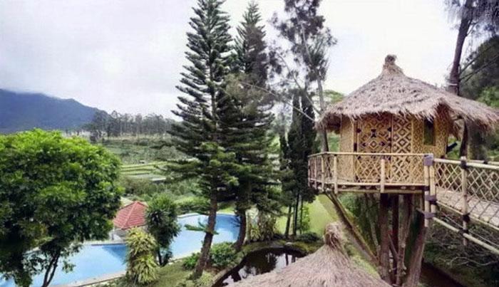 Wisata Rumah Pohon Villa Lembang