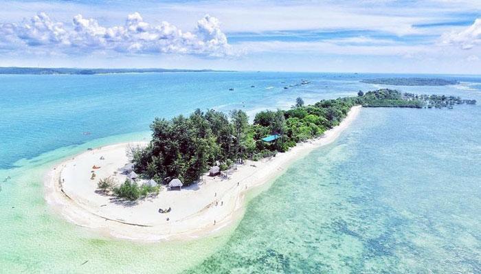 Wisata Pulau Bintan - White Sands Island